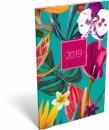 Calendar floral orchid