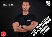 Free consultation and free PERSONAL training 2 times!