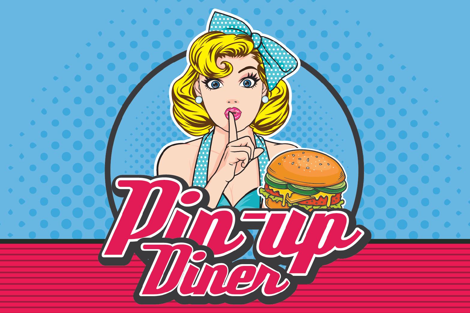 Pin-Up Diner 🚀